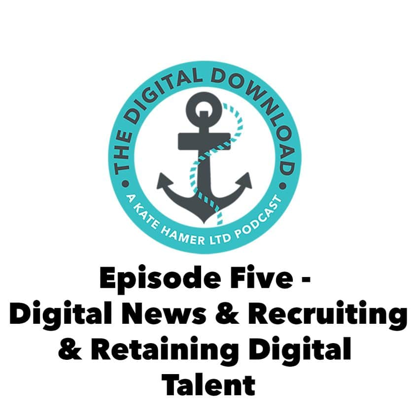 The Digital Download Episode 5 Cover