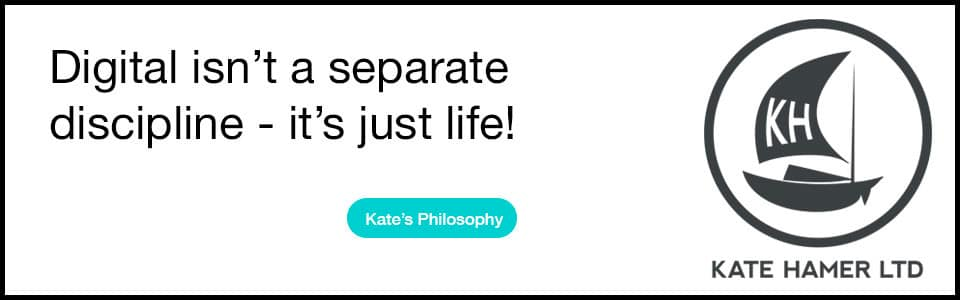 Read about the Kate Hamer Digital Philosophy