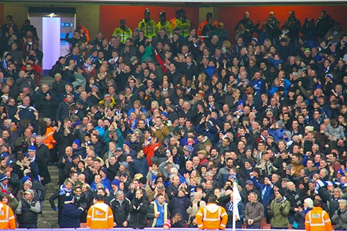 Leicester Fans by Ronmacphotos on Flickr