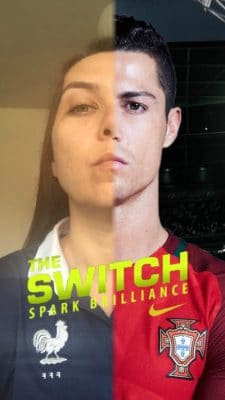 The Switch Snapchat Filter