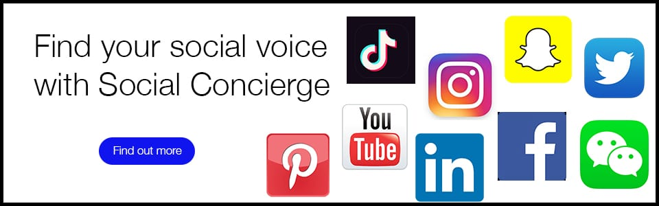 Discover our Social Concierge Services